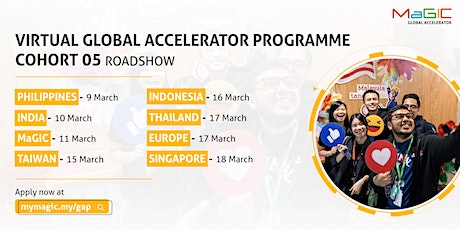 Global Accelerator Programme (GAP) Cohort 05 Virtual Roadshow - Thailand tickets