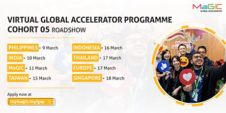 Global Accelerator Programme (GAP) Cohort 05 Virtual Roadshow - Singapore tickets