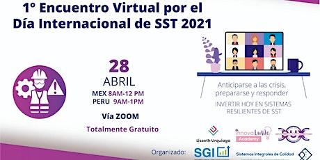 1er Encuentro Virtual Día Internacional de SST LATAM entradas