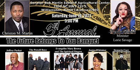 3rd Annual The Future Belongs To You Banquet tickets