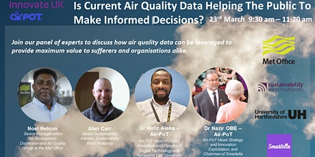Is Current Air Quality Data Helping The Public To Make Informed Decisions? tickets