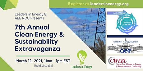 7th Annual Clean Energy & Sustainability Extravaganza tickets