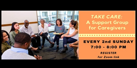 TAKE CARE: A Support Group for Caregivers tickets