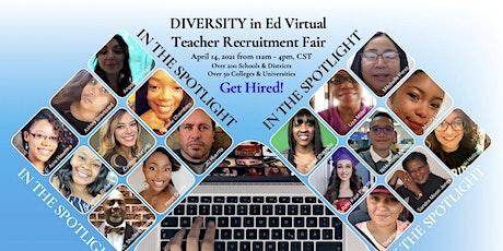 Camino Nuevo Charter Academy Virtual Teacher Recruitment Fair boletos