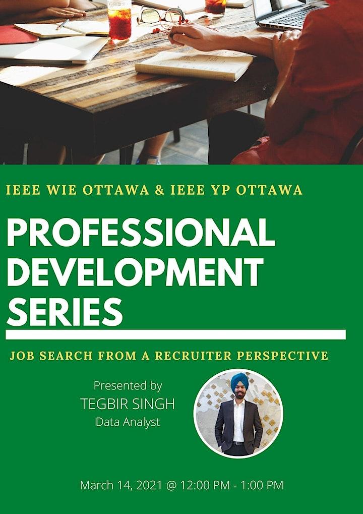 Professional Development Series: Landing your dream job image