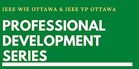 Professional Development Series: Landing your dream job tickets
