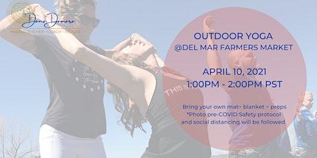 Del Mar Farmers Market Outdoor Yoga tickets