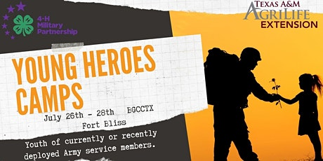 Young Heroes Camp - Fort Bliss tickets