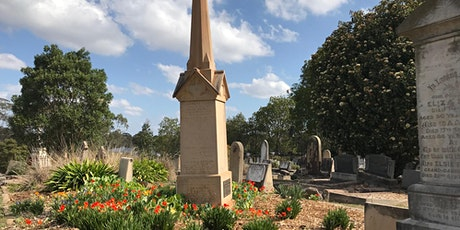 The Future  as an Echo of the Past - A Guided Tour of Mays Hill Cemetery tickets