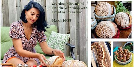 Sourdough Bread and Brioche Baking ONLINE Workshop tickets