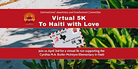 To Haiti With Love - Virtual  5K tickets