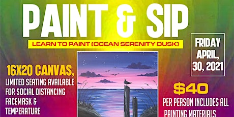 PAINT & SIP tickets