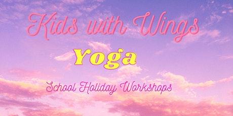 School  Holiday Kids Yoga Workshop tickets