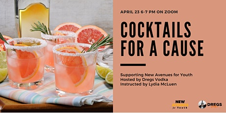 Cocktails for a Cause Supporting New Avenues for Youth tickets