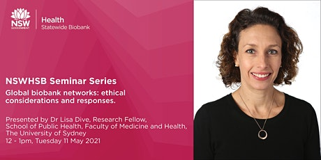 NSWHSB Seminar Series - Dr Lisa Dive tickets