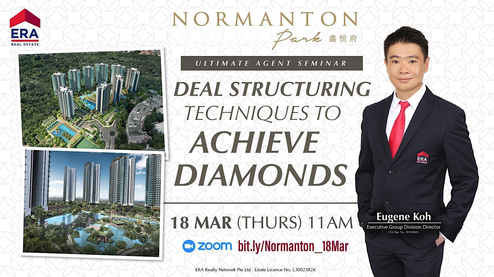 Deal Structuring Techniques To Achieve Diamonds (Normanton Park)