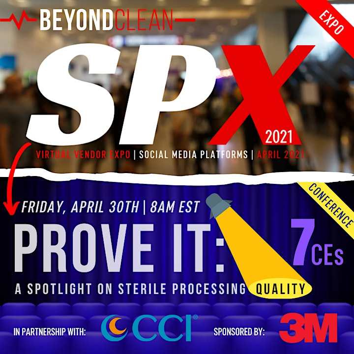 SPX2021 | Virtual Expo & Prove It! Conference| Beyond Clean image