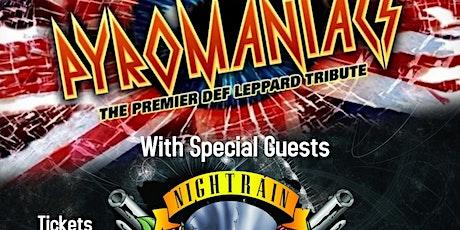 Pyromaniacs with Nightrain at Diamond Music Hall tickets