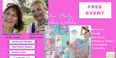 Colour, Clarity, and Confidence Workshop tickets
