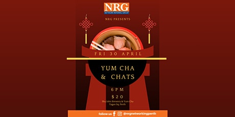 Yum Cha & Chats NRG Sundowner tickets