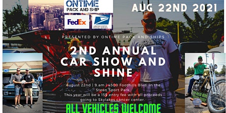 2nd annual OnTime Pack and Ship show and shine tickets
