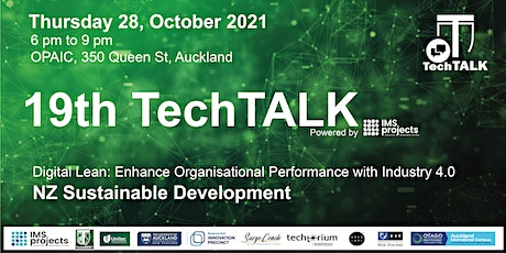 TechTalk #19 - NZ Sustainable Development tickets