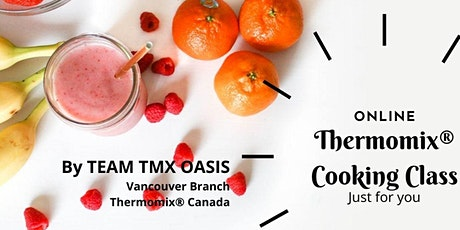 Thermomix Cooking Cooking Class with Grace Huang tickets