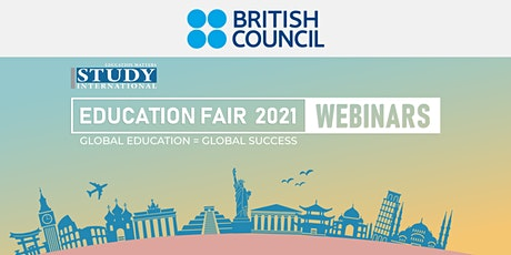 Post-Fair FREE Webinar:  Know more about IELTS - British Council tickets