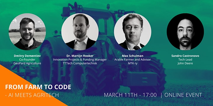 From Farm to Code - AI meets Agritech image