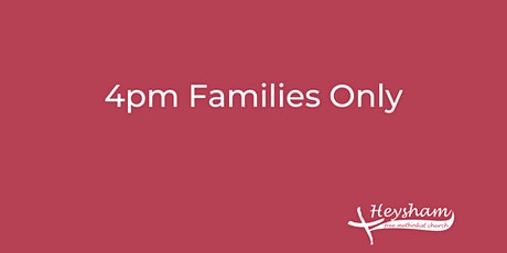 Sunday 14th March 4pm Family Only Gathering tickets