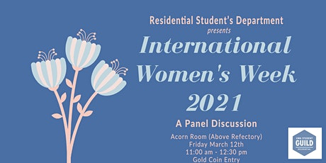 RSD x International Women's Week 2021 tickets