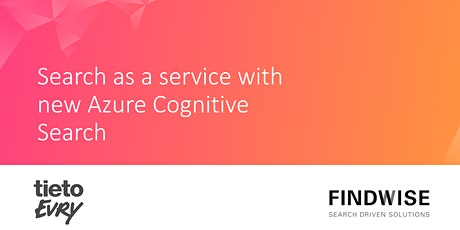 Search as a Service with new Azure Cognitive Search tickets