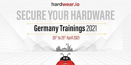 Hardwear.io Germany 2021: Hardware Security Training tickets