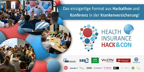 HEALTH INSURANCE HACK&CON VOL.3 - Krankenkassen-Hackathon & Konferenz billets