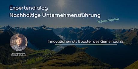 Expertendialog Nachhaltige Unternehmensführung Tickets