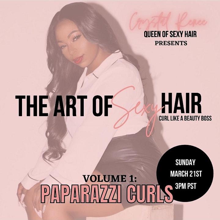 Curl Like a Beauty Boss Volume 1: Paparazzi Curls image