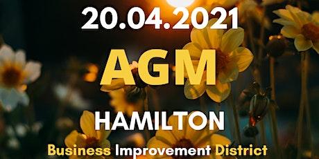 Hamilton BID AGM tickets