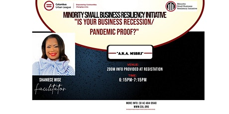 Is Your Business Recession/Pandemic Proof? tickets