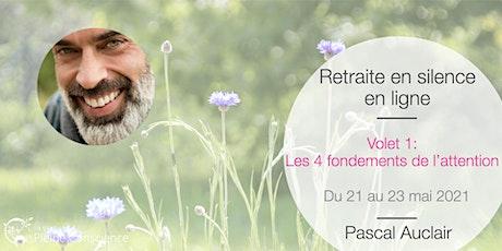Retraite de pleine conscience en ligne avec Pascal Auclair - mai 2021 billets