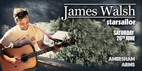 James Walsh of Starsailor - InPop Presents tickets