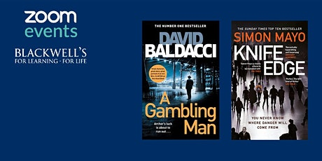 Masters of Crime: David Baldacci and Simon Mayo tickets
