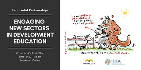 Purposeful Partnerships: Engaging New Sectors in Development Education tickets