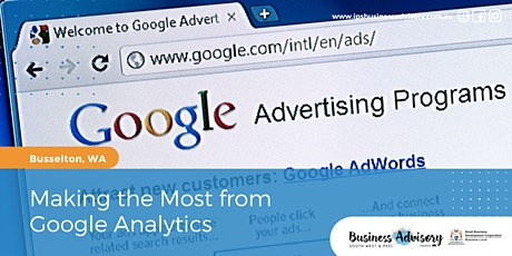 Making the Most from Google Analytics tickets