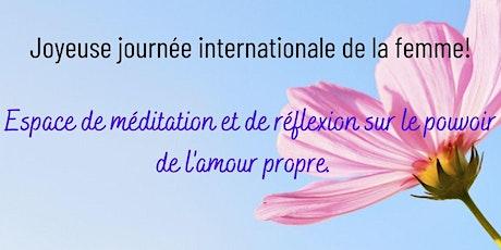 Célébrer les femmes: Meditation + causerie sur le pouvoir de l'amour propre billets