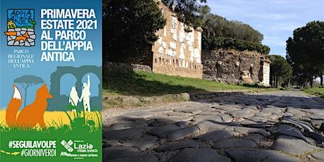 Grand Tour del Parco dell'Appia Antica biglietti