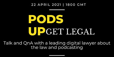 Pods Up: Get Legal tickets