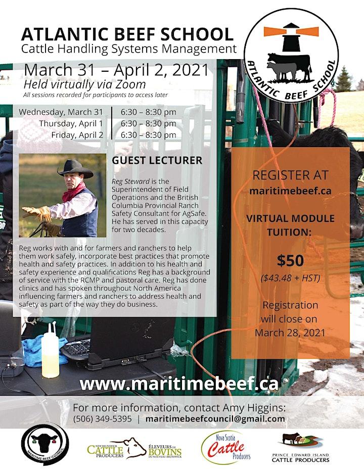 Atlantic Beef School: Cattle Handling Systems image