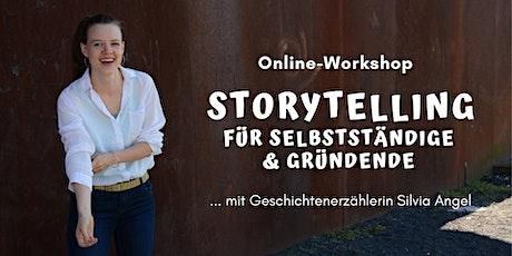 Online-Workshop: Storytelling für Selbstständige & Gründende Tickets