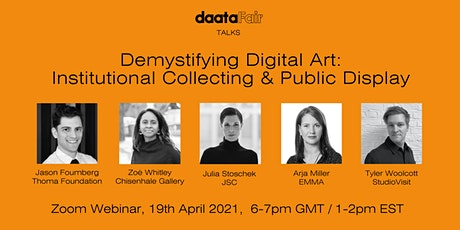 Demystifying Digital Art: Institutional Collecting and Public Display tickets