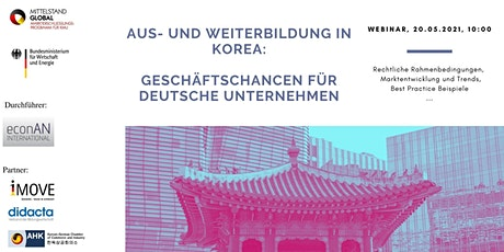 Aus- und Weiterbildung in Südkorea Tickets